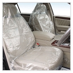SEAT MATE 3-PLY PLASTIC FILM SEAT COVERS - 200 PACK