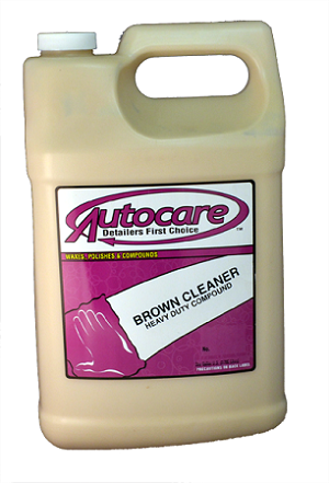 BROWN CLEANER GALLON
