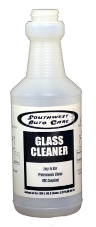 16 oz. GLASS CLEANER SAFETY BOTTLE