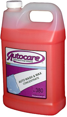 AUTO WASH & WAX GALLON