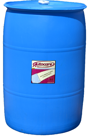 AUTO WASH & WAX 55 GALLON