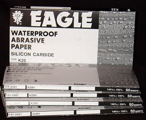 EAGLE SUPERFINE 1000 GRIT SANDPAPER